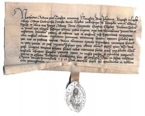 Listina priora Andreja z roku 1520